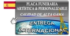 Personalizable place funeraria
