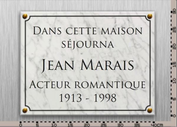 Plaque comm morative en marbre de carrare personnaliser for Prix d une plaque de marbre