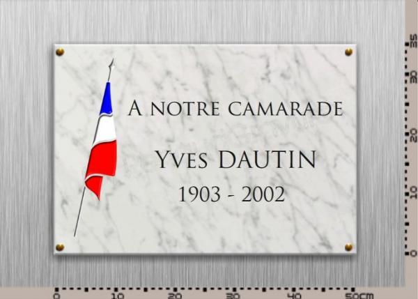 Les plus belles plaques comm moratives en marbre for Prix d une plaque de marbre