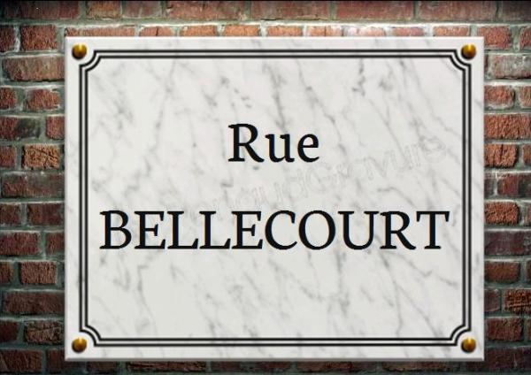 Plaque de rue en marbre blanc grav for Prix d une plaque de marbre