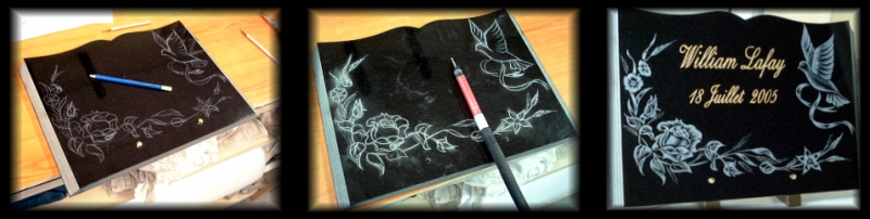 La gravure sur granit, un art râre pour personnaliser un article mortuaire