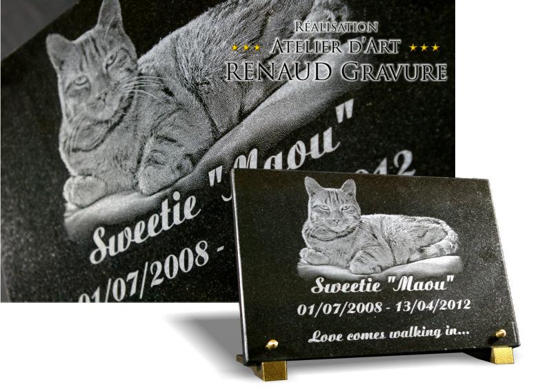 Plaque fun raire granit pour tombe de cimeti re for Prix d une plaque de marbre
