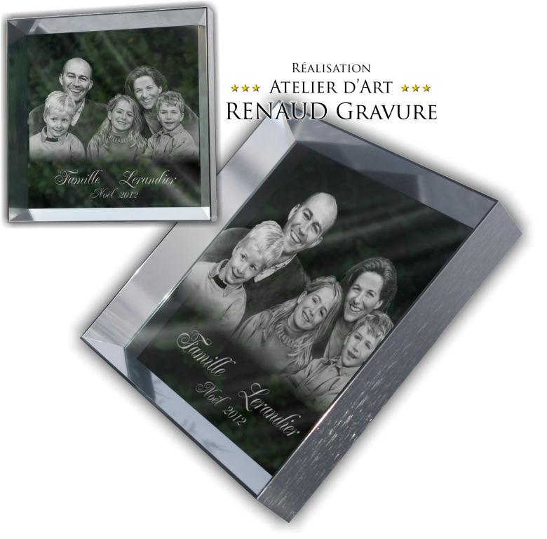 Top Miroir gravé personnalisé pour un cadeau original. HK48