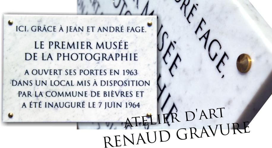 Plaque de commémoration